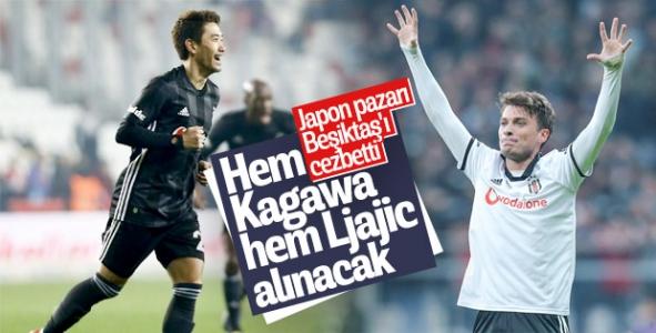 Beşiktaş Ljajic ve Kagawa'nın bonservisini alacak