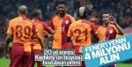 Galatasaray'ın F.Bahçe galibiyetine vereceği prim