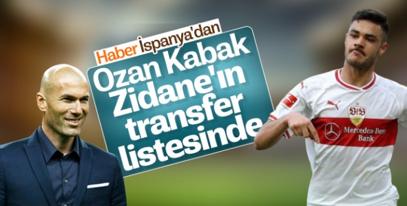 Real Madrid'in transfer listesinde Ozan Kabak da var