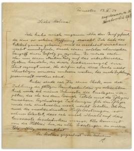 Einstein'ın mektubu 134 bin dolara alıcı buldu