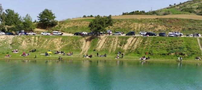 Adanalılar hafta sonu piknik alanlarına akın etti
