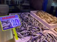 Trabzon'da taze hamsinin kilogramı 20 liradan satılıyor